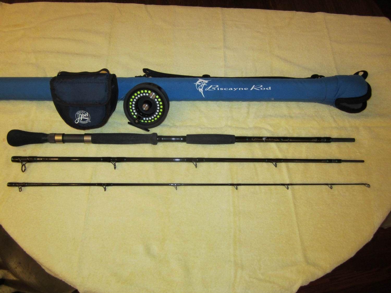 Custom Biscayne Sailfish/Marlin Fly Rod with Abel 4.5 reel flyline ...