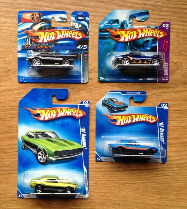 Hot Wheels Chevy Camaro Lot Of Classics Muscle Car Variations