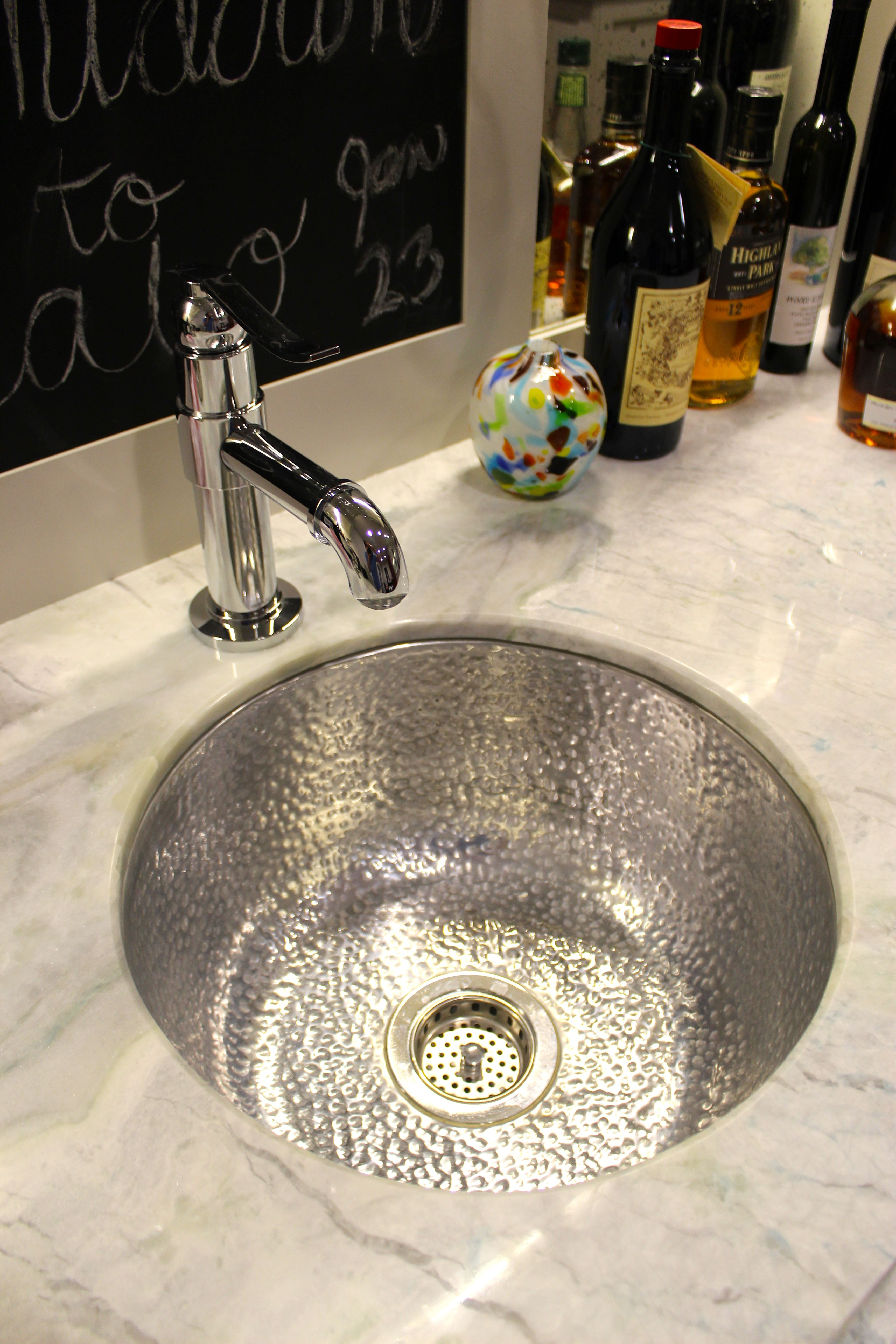 Bates Bates Polished Alloy Undermount Drop In Bar Sink Graff Polished Chrome Single Hole Lavatory Faucet Princess Bar Sink Undermount Bar Sink Copper Sink