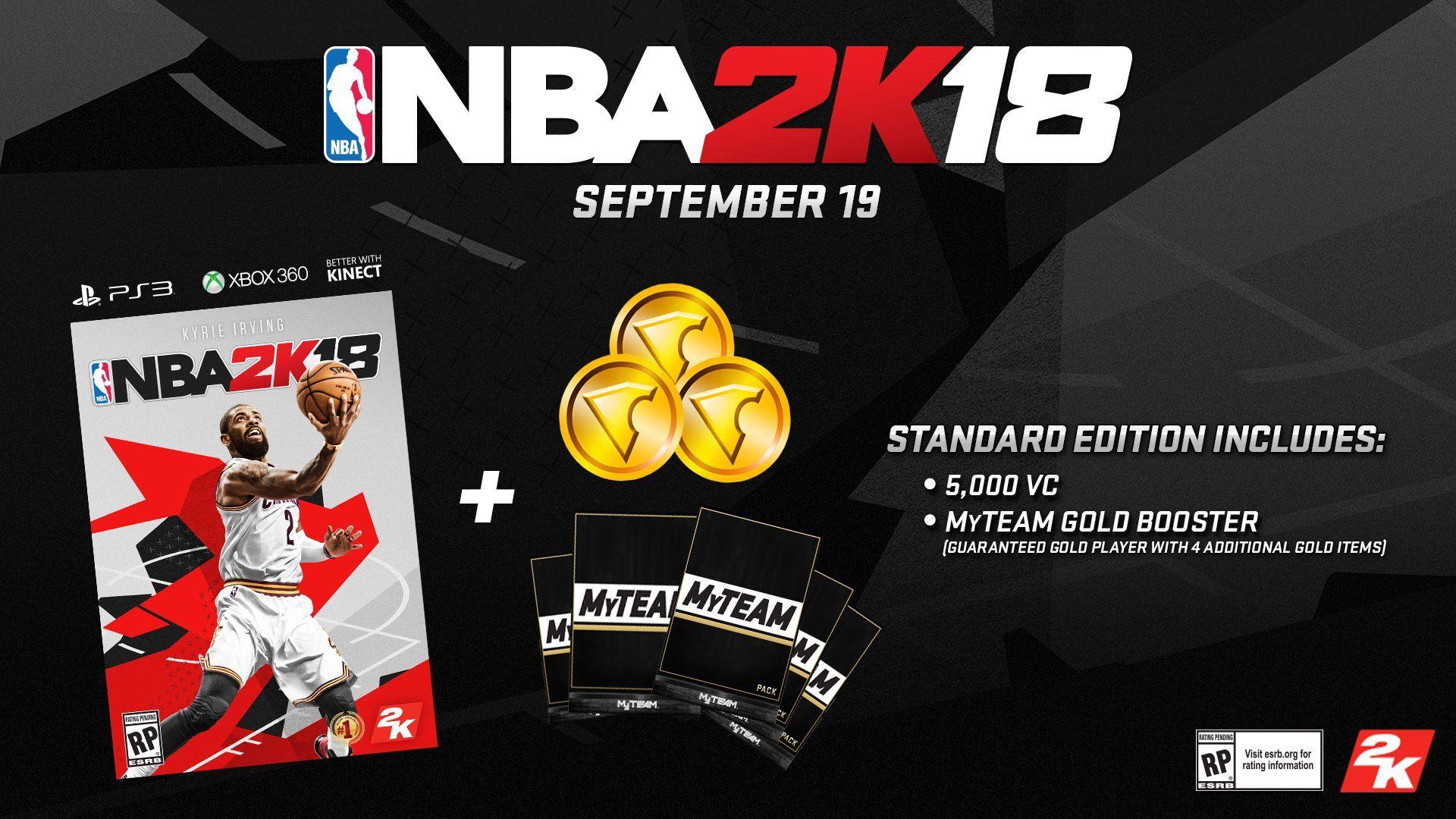 NBA 2K18 Early TipOff Edition Xbox 360,Early, NBA,