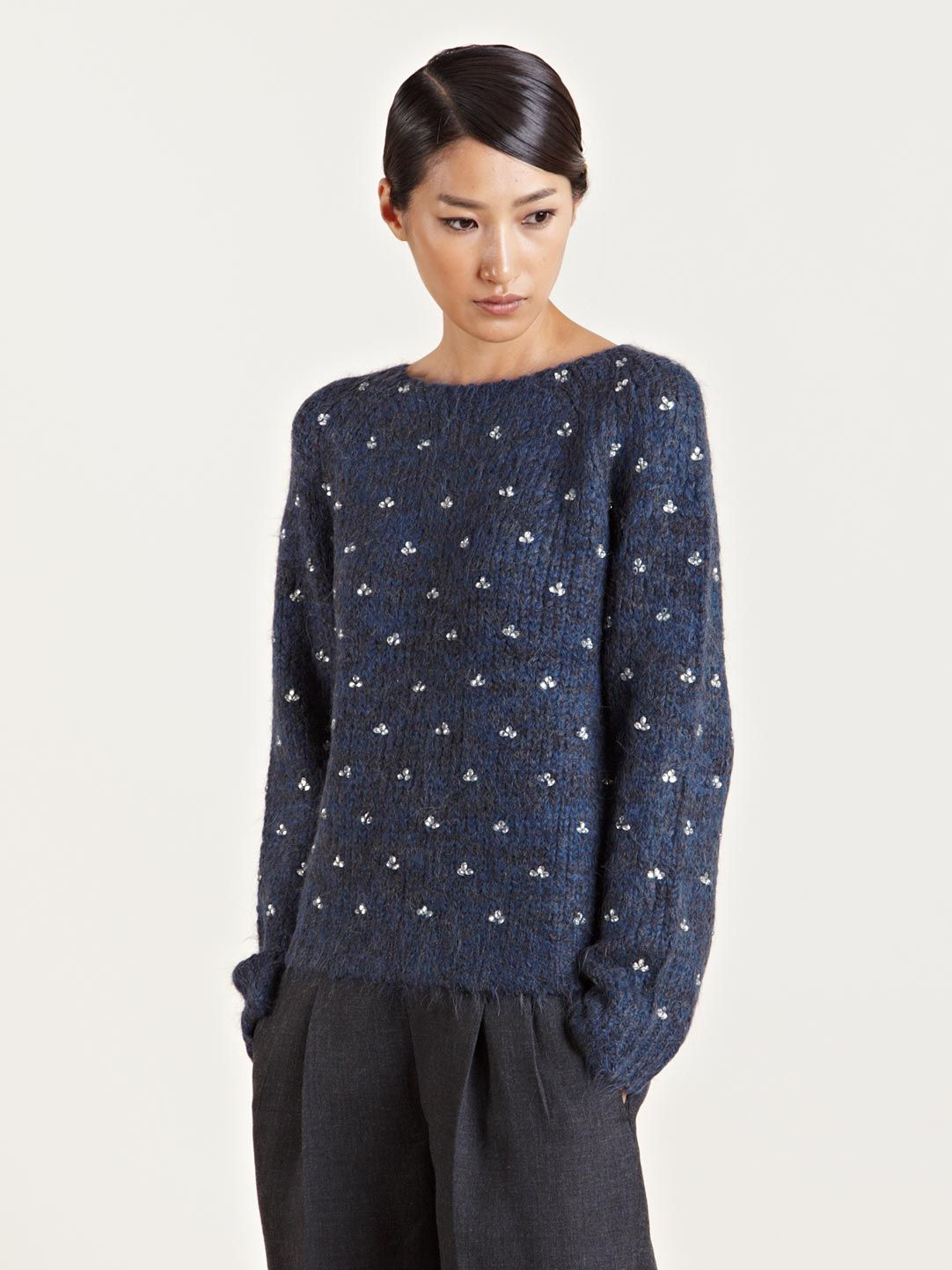 Dries Van Noten Women's Tairana Alpaca Sweater | knitspiration ...