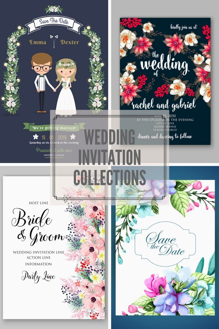 Premium Wedding Invitations Template Online For Your Great Big Day ...