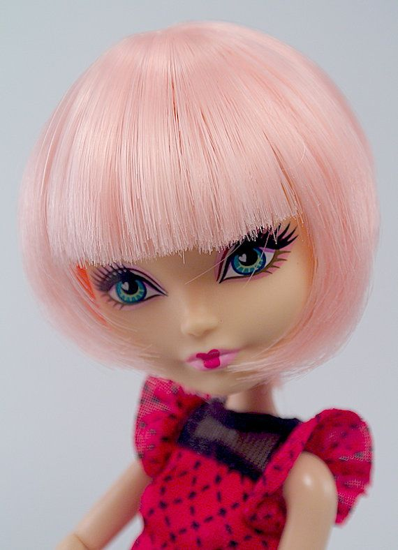 Short Wig For Doll Monster High Ever After High Bob Haircut