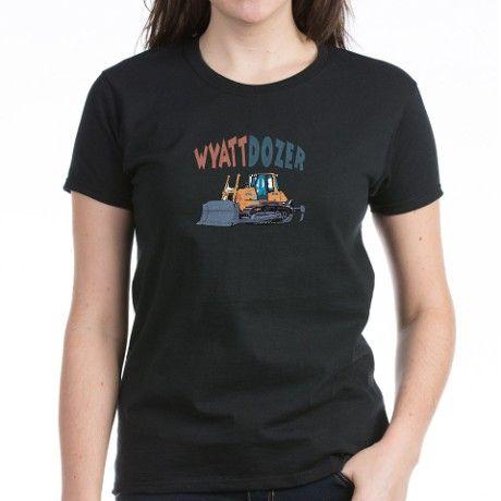 Wyattdozer the Bulldozer Tee on CafePress.com