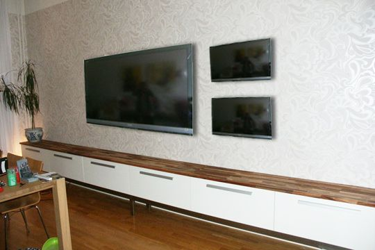 The Extra Extra Long Ikea Media Console Hack Tv Console