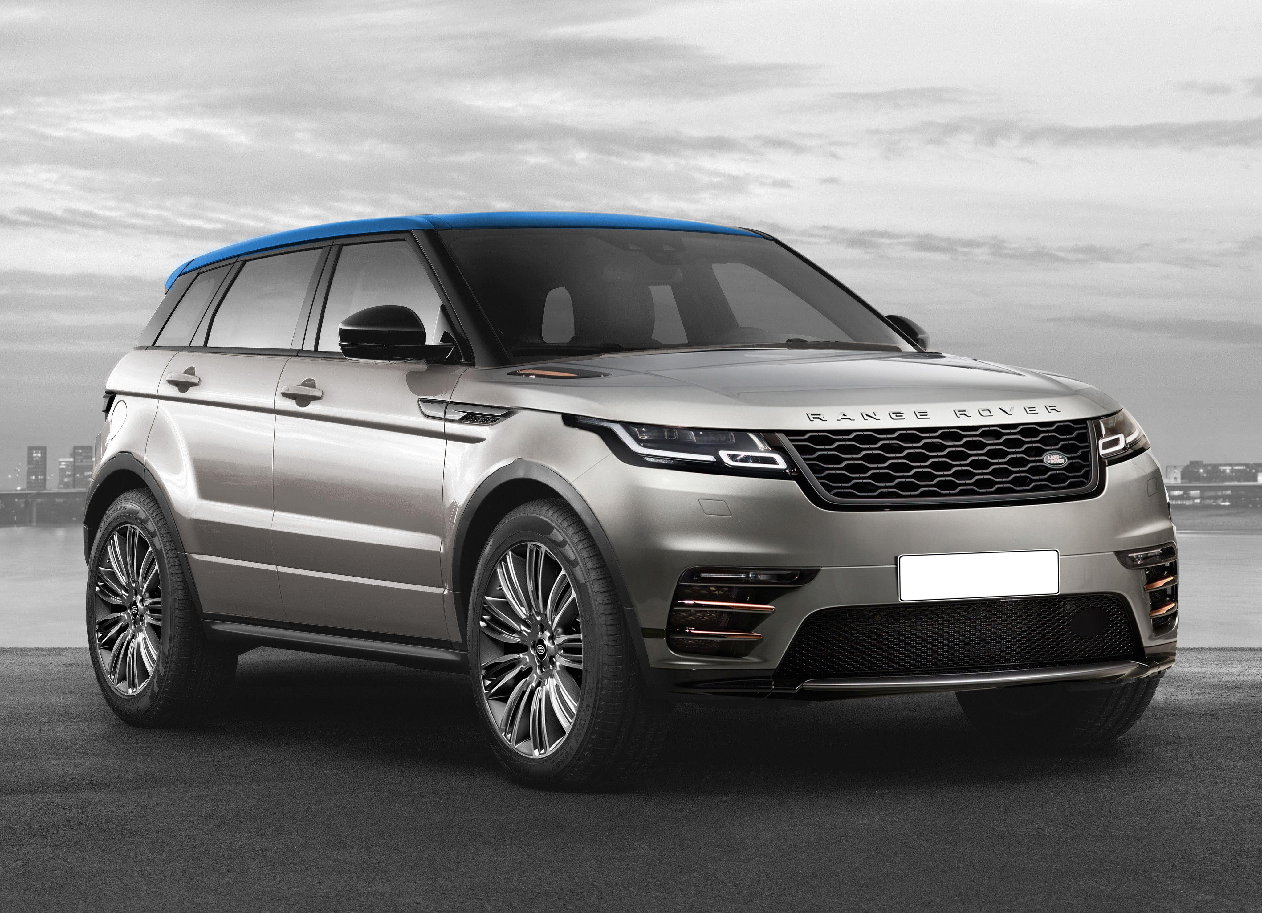 """Check out my Behance project """"Land Rover Range Rover"""