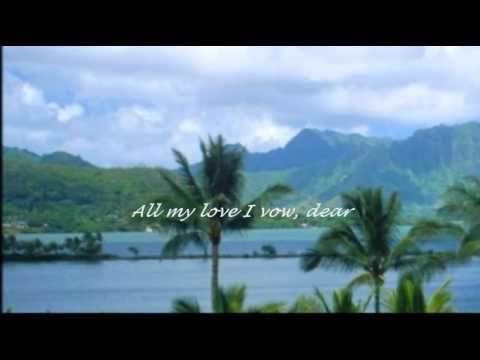 Andy Williams Hawaiian Wedding Song Andy Williams Family Music Beautiful Songs