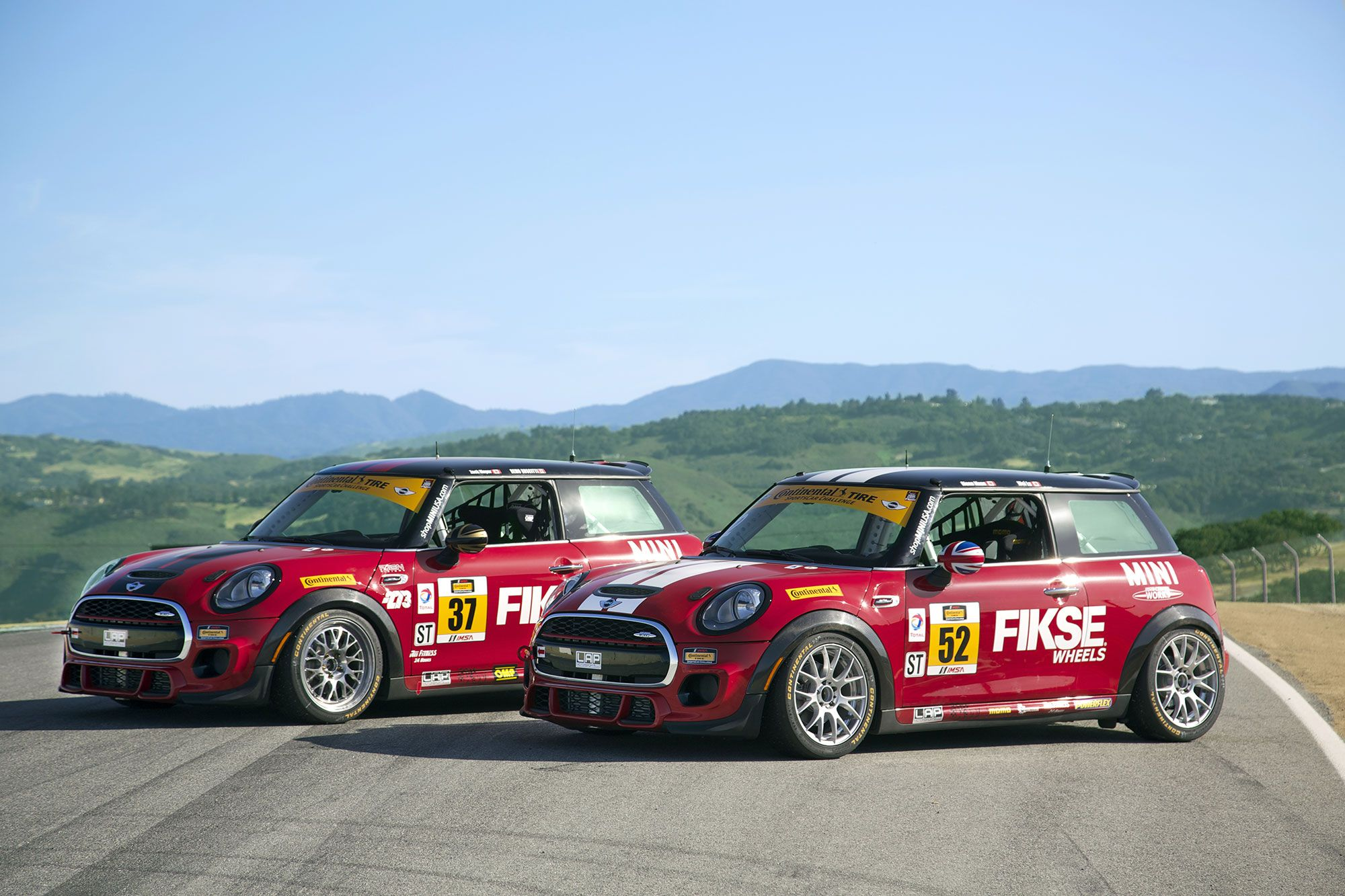 Mini Jcw Team Mini John Cooper Works Racecars Imsa Series Usa