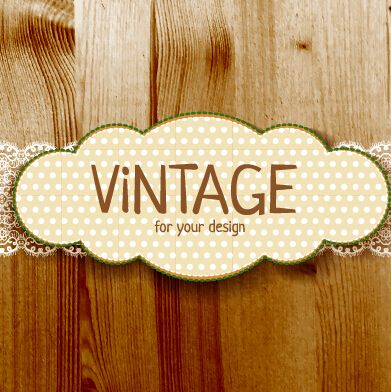 Retro lace with wooden background vector 03 vector background free retro lace with wooden background vector 03 vector background free download toneelgroepblik Image collections