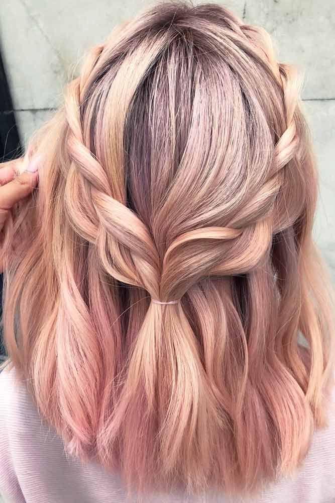 30 einfache neue mittlere Frisuren   – Medium Length Hair