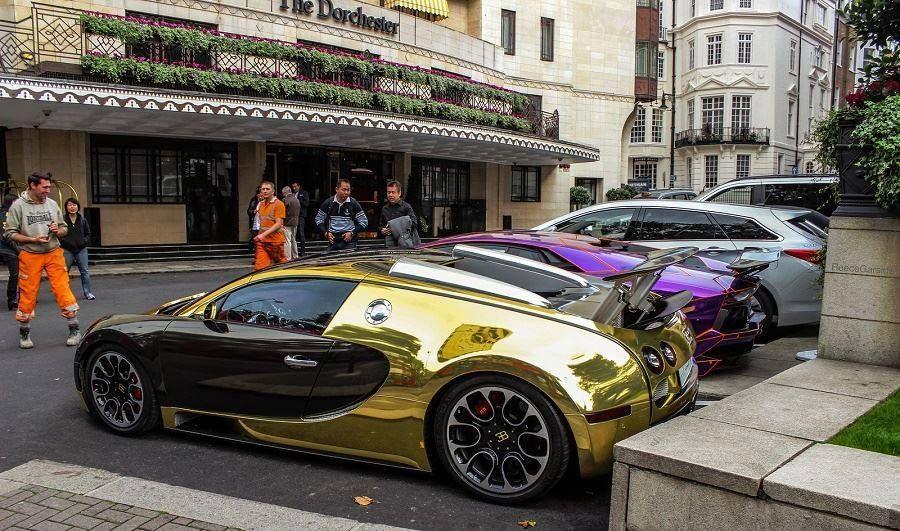 Chrome Gold Bugatti Cars Bugatti Veyron Super Sport Bugatti Veyron Bugatti