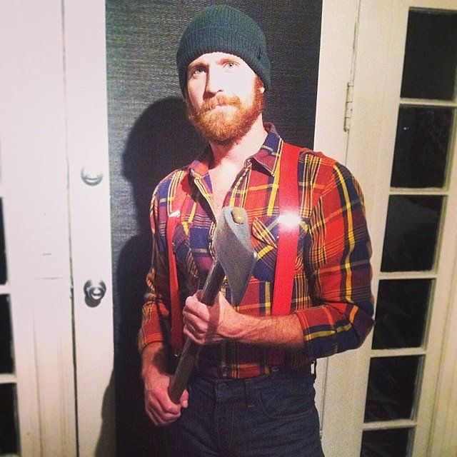 Sexy lumberjack halloween costume