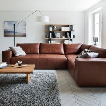 Cardiff Mobili Fly Home Living Room Brown Couch Decor Home