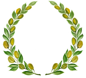 Istockphoto Olive Branch Wreath Clip Art Olive Wreath Wreath Clip Art Olive Branch Wreath