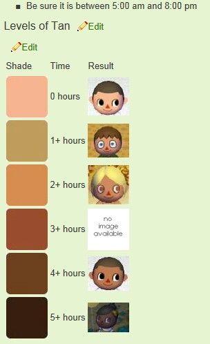 Animal Crossing Tans Animal Crossing Animal Crossing Hair