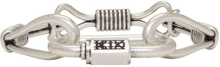KTZ Silver Wire Bracelet