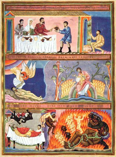 Эхтернахский Золотой Кодекс 1035 г. Нюрнберг, Германский музей.