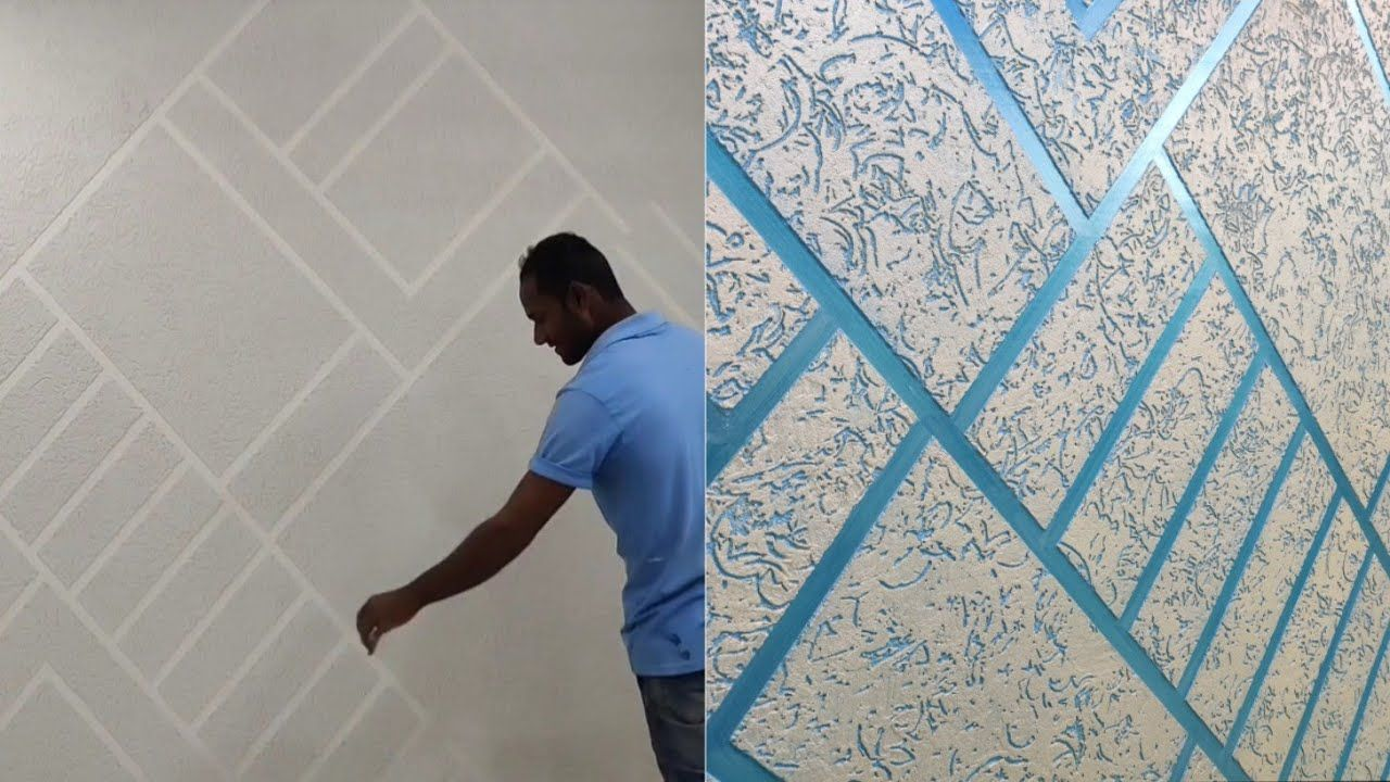 Wall Texture Design Masking Tape And Rustic Special Effect Wall Texture Design Tape Wall Art Texture Design