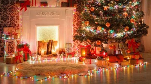 Acquista decorazioni di natale illuminare la bambola di natale fai