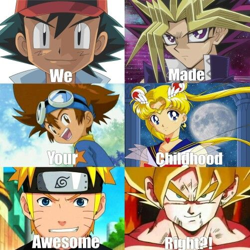 Yugi Had More Of An Impact On Me Than Ash And So Did Tai However