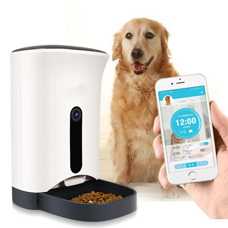 Inteligente Alimentador De Mascotas Gato Perro Dispensador