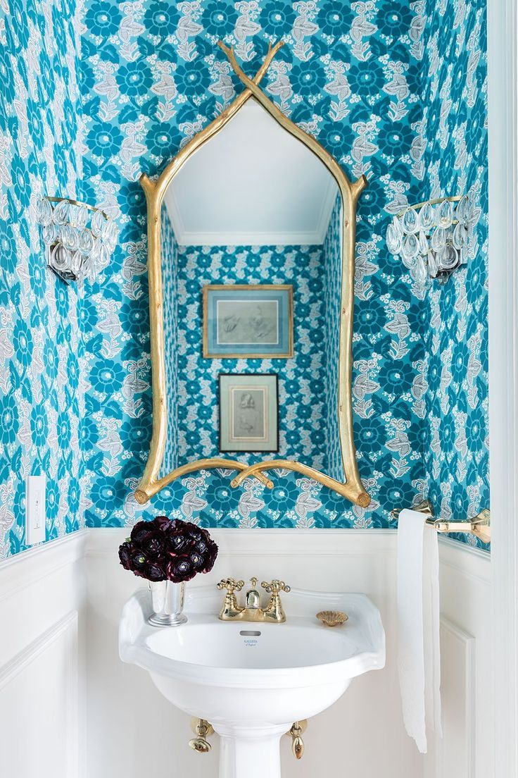 blue bathroom inspiration