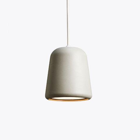designdelicatessen - New Works - Material Pendel - Lys Grå Betong - New Works