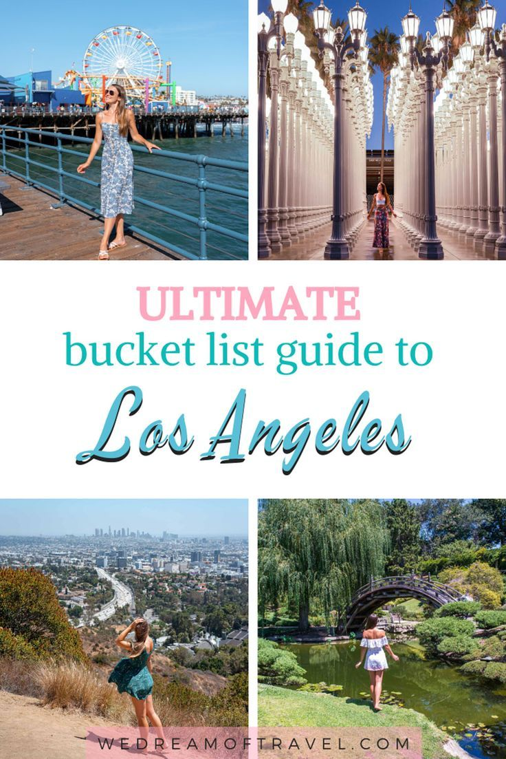 Los Angeles Bucket List.  An ultimate guide for things to do in Los Angeles, California. #losangeles #california