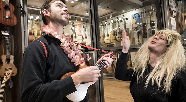 10 good reasons to play the ukulele - check out our t.blog! #ukulele #music #fun #playing
