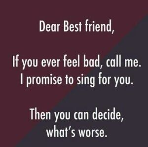 Funny Friendship Quotes | Best friend quotes funny, Short ...