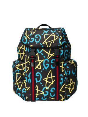 14dd4a61f84 GUCCI Gg Stars Canvas Backpack.  gucci  bags  lining  canvas  nylon   backpacks