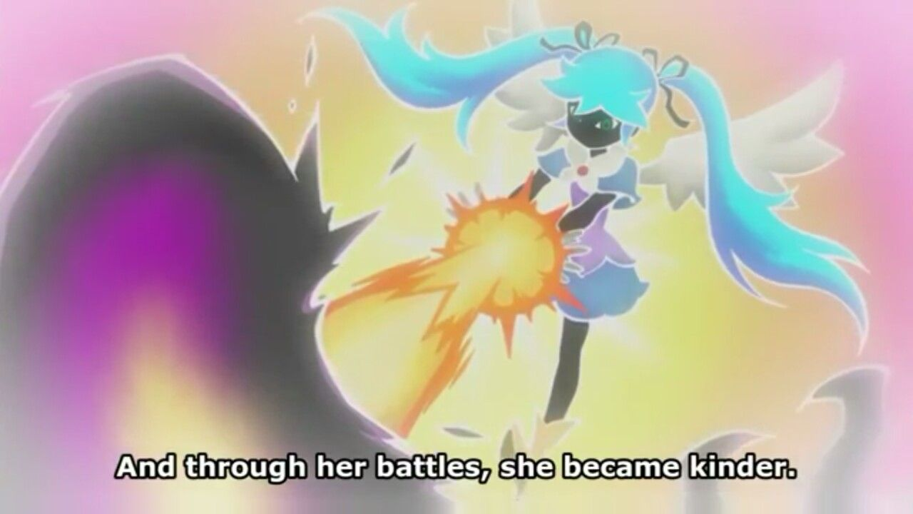Blue Angel defeating her demons