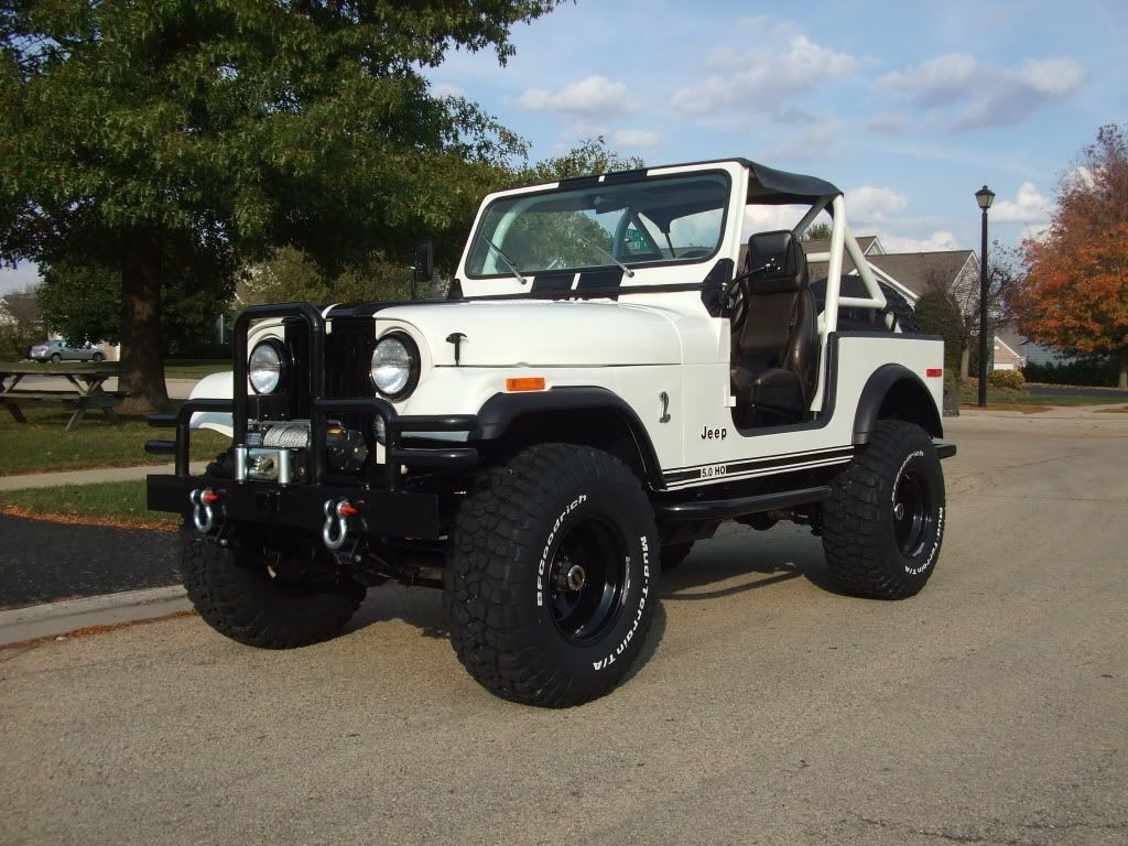 image result for white 1979 cj5 [ 1024 x 768 Pixel ]