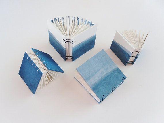Indigo No. 1 Artist Book Hand-Dyed Handbound