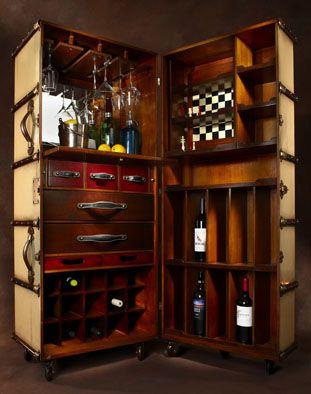 Steamer Trunk Bar