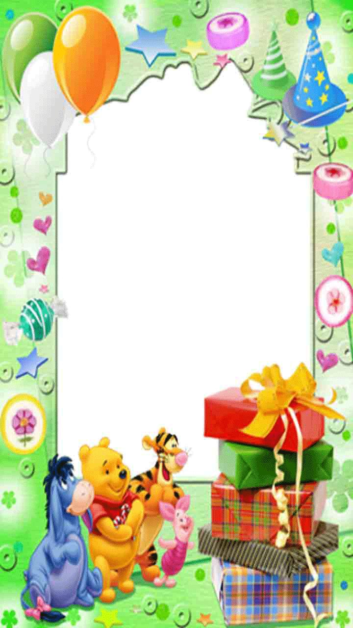 Картинка шаблон поздравление с днем рождения в детском саду