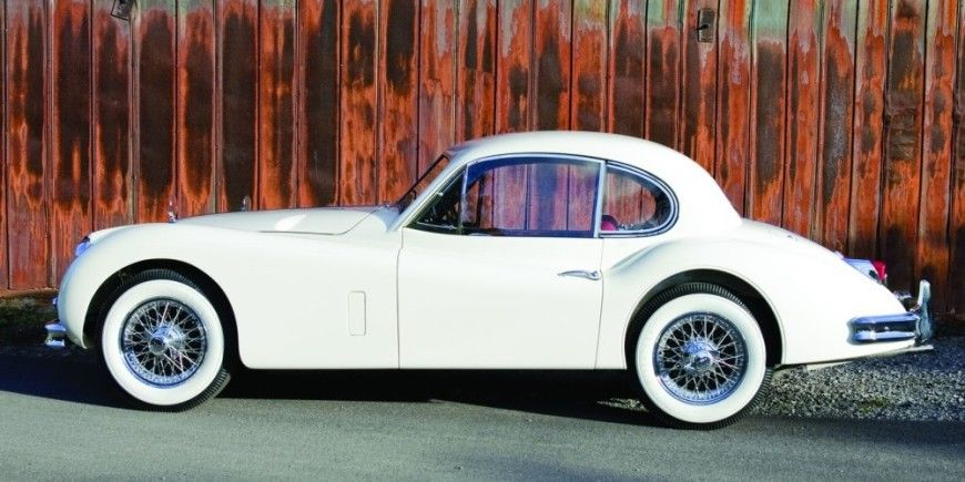 1957 Jaguar XK140 MC Fixed-Head Coupe