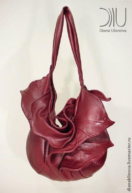 Женские сумки ручной работы. Ярмарка Мастеров - ручная работа сумка кожаная