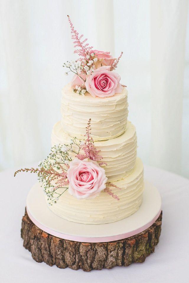 Britische Vintage Hochzeit Von Denise Stock Wending Cake