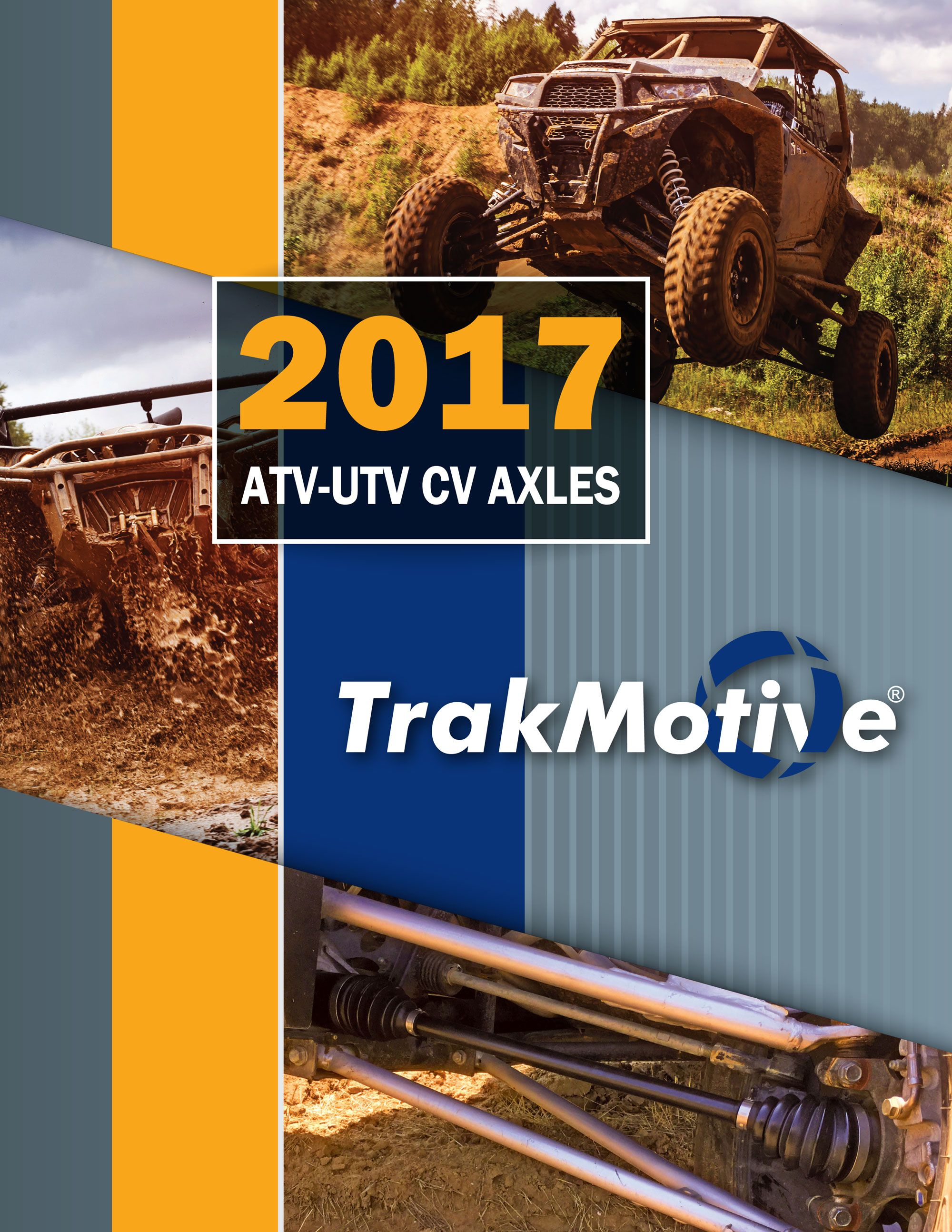 TrakMotive Releases 2017 ATVUTV CV Axle Catalog with