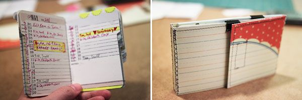 X Index Card Folder Tutorial  Amanda Hawkins  Tutorials