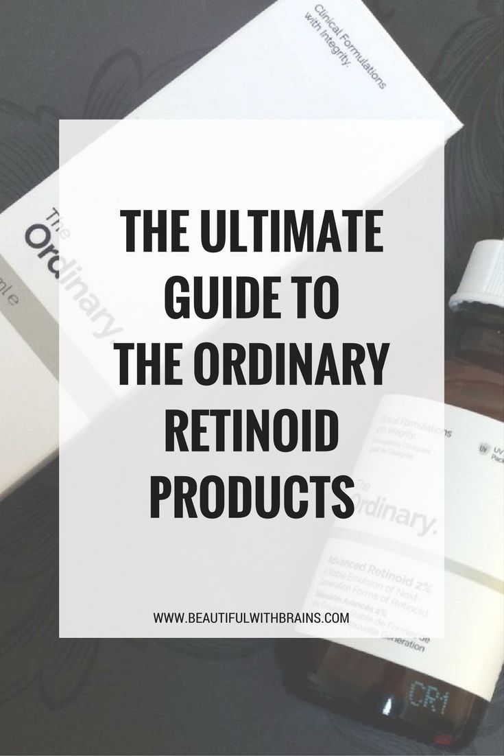 The Ultimate Guide To The Ordinary Retinoid Products ...