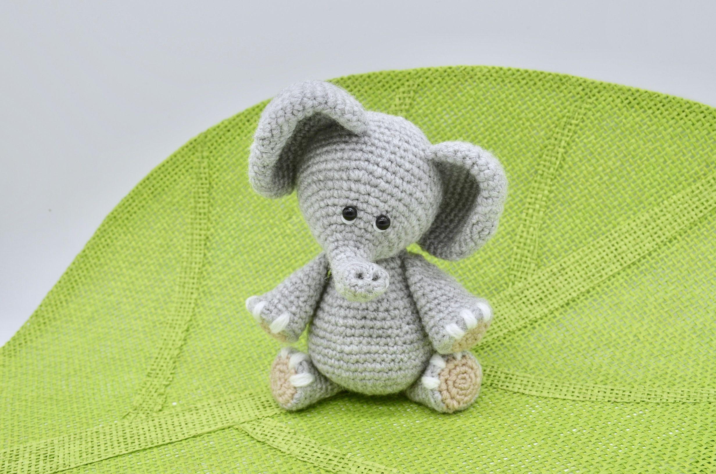 PATTERN: Ellis the Elephant - crochet elephant - amigurumi ... | 1632x2464