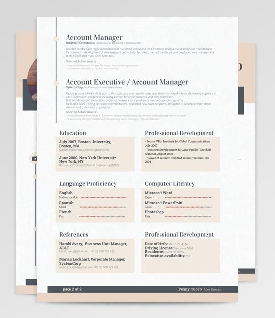 Resume Templates, Resume Template Free