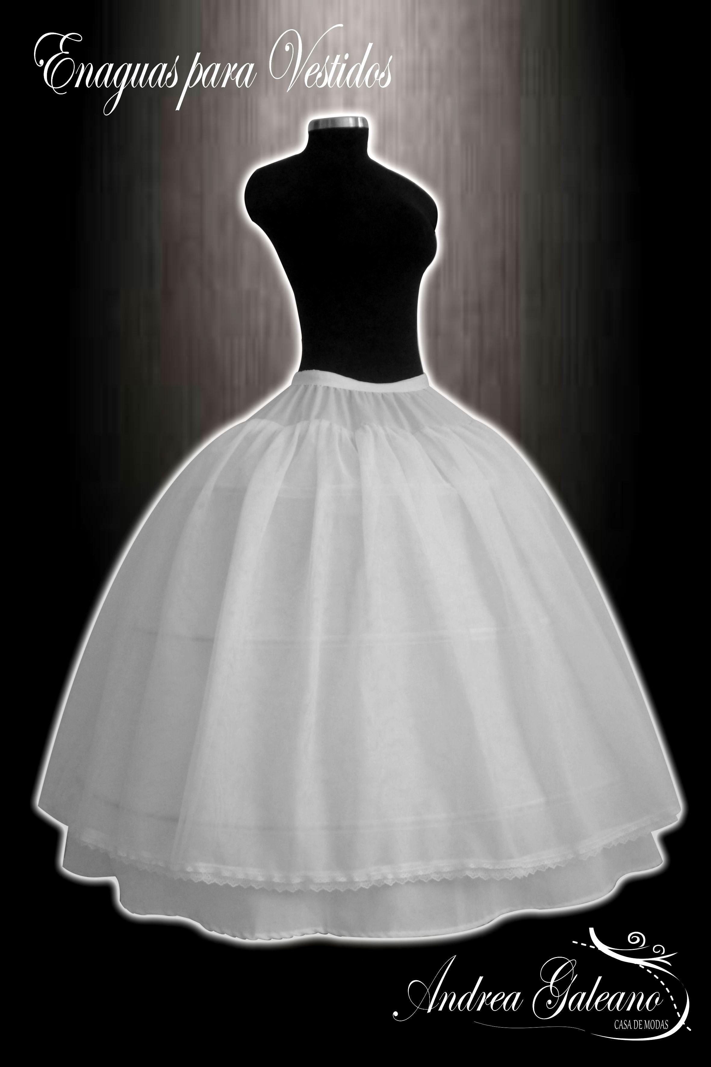 Enaguas para vestidos de quinceañeras 970757b7ac30