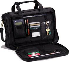 Click Image Above To Purchase: Royce Leather Expandable Briefcase 642-3 - Black Leather