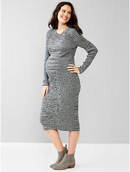 9d0329f36c Marled sweater midi dress