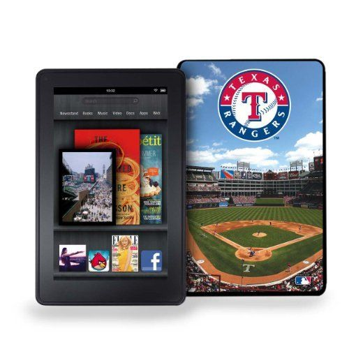 MLB Texas Rangers Kindle Fire Stadium Collection Baseball Cover by Pangea Brands. $32.19. New from Keyscape and Pangea Brands, comes the new hard shell case for the Kindle Fire  This case is made in the USA, the only case that allows 4 color art to enhance the protection of your Kindle Fire The ballpark leather (or vintage) look cases are rigid, hard shell cases that show off the fan that you are. All are packaged in attractive black bordered cases, peggable with clear w...