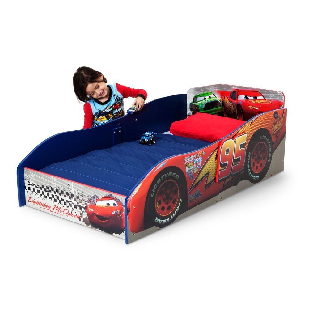 Disney Cars Lightning Mcqueen Bed Frame For Kids Bedroom