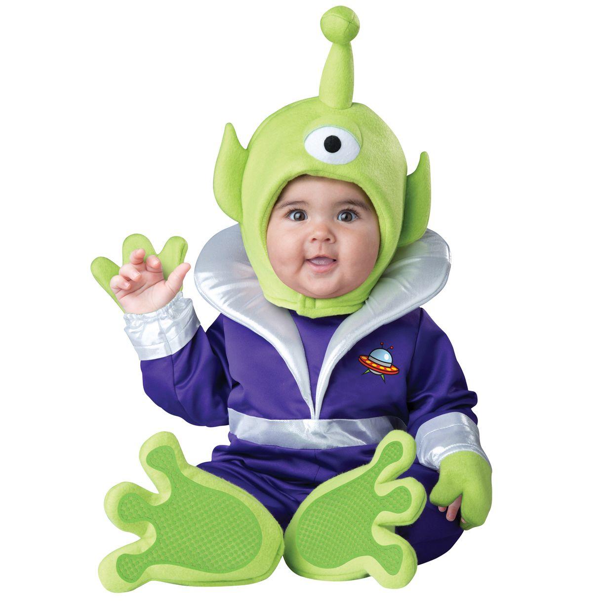 Disfraz Marciano Mini Martian Deluna Disfraces Disfraz De Marciano Trajes De Halloween Del Bebé Disfraces De Halloween Para Bebés